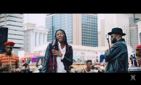 Praiz – Hustle ft. Stonebwoy Video