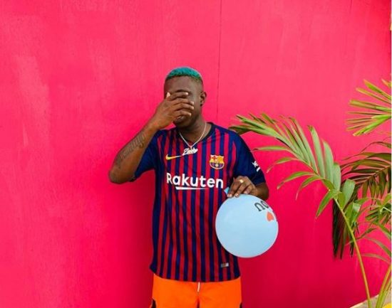 Zlatan Ibile gets back to social media after release.
