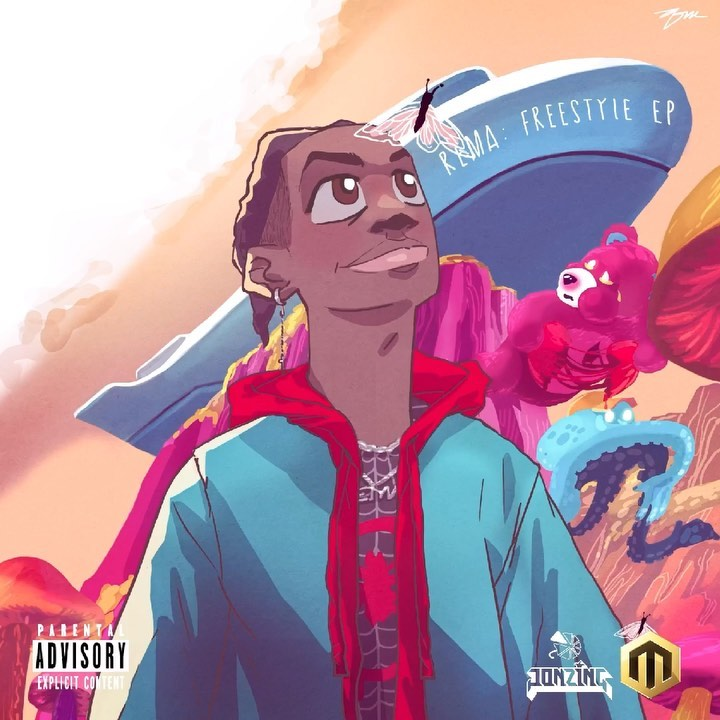 Rema – Trap Out The Submarine Mp3 Download