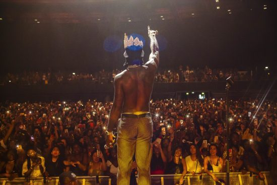 Burna Boy Performs To Audience Of 6000 People At Afropunk Festival, Paris....