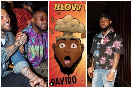 "Davido's ""Blow my mind"" is the most popular song in the world."