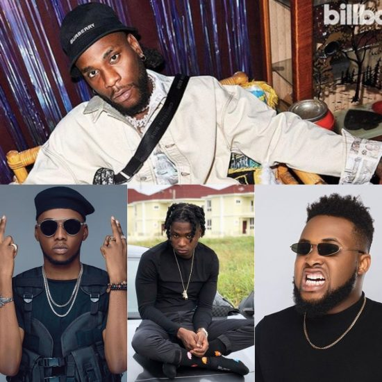 10 New Naija Songs You Need To Lit Up Your Week. - Lil Kesh, Mayorkun, Chinko Ekun, Johnny Drille, Junior Boy, Victor AD, Baddy Oosha, Qdot, Burna Boy, Blaqbonez, L.A.X, Broda Shaggi, Oladips.