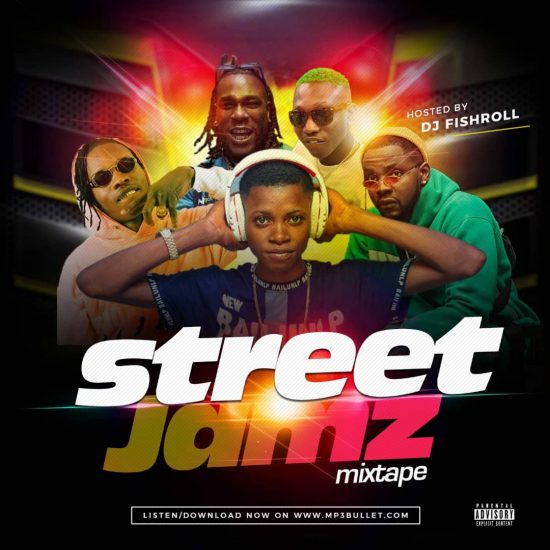 DJ FishRoll - Street Jamz Mixtape