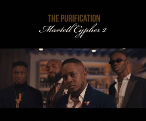 "M.I Abaga x B laqbonez x A-Q x Loose Kaynon – ""Martell Cypher 2"" (The Purification) Mp3 Download"