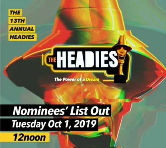 Burna Boy, Wizkid, Davido, others Bag 2019 Headies Nomination