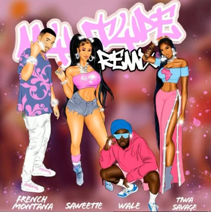 French Montana x Wale x Saweetie x Tiwa Savage – My Type (Remix) Mp3 Download