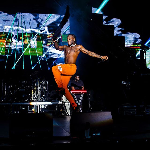 How Burna Boy has stolen the show, two years in a row