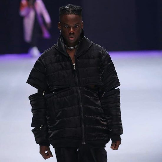 Rema Makes Runway Debut At The Lagos Fashion Week