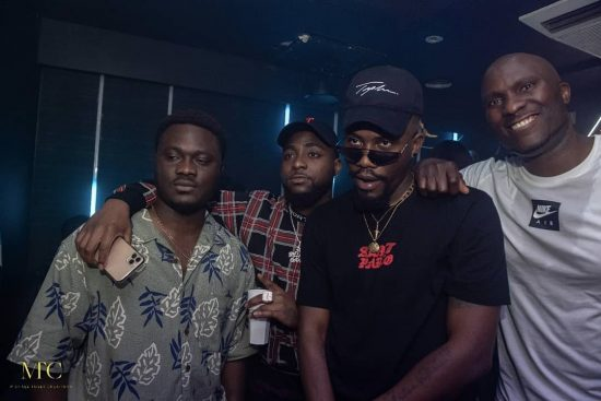 Ycee Hosts Album Listening party in London