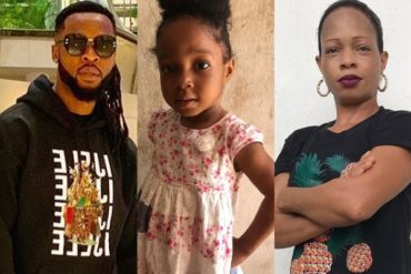 Fresh Drama As Lady Claims Her Baby Girl is Flavour's Child