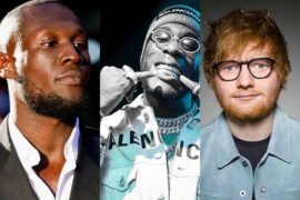 Stormzy Features Burna Boy & Ed Sheeran In New Album