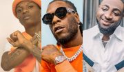 Wizkid & Davido Thrill Fans At Burna Boy's SSE Arena Concert.