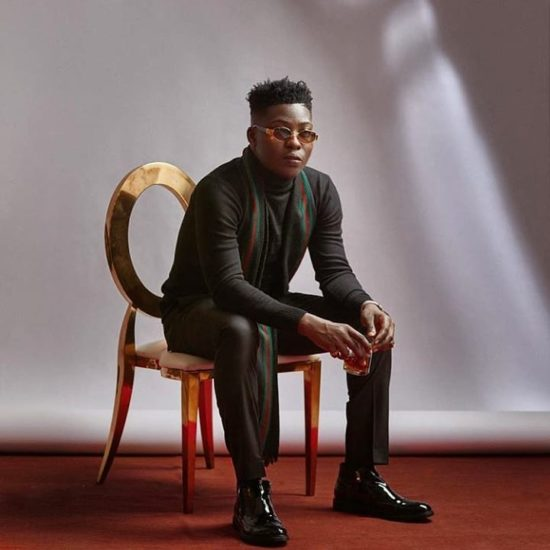 Reekado Banks Celebrates as he Hits 1M Followers on Twitter