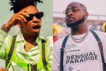 Mayorkun Almost In Tears As Davido Reveals He's Very Proud Of Him