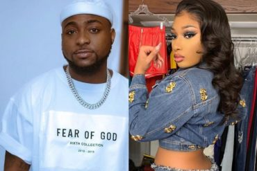See ReactionsTo Davido's Moment With Megan Thee Stallion On Stage