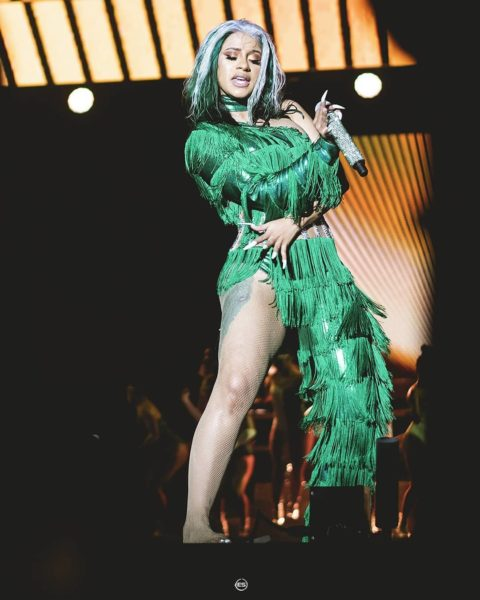 See Videos Of Cardi B's Massive Performance At Lagos Concert