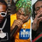 Watch Burna Boy, Zlatan & Naira Marley Freestyle At Quilox