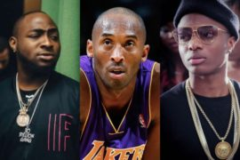 Wizkid, Davido, others mourns Kobe Byrant & Daughter's death.