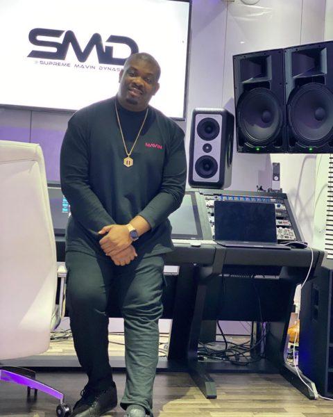 Veteran Nigerian music producer and Boss of mavins and Jonzing world records, Don Jazzy has taken to his twitter handle to share his plane experience as he reveals that he is scared of Coronavirus.