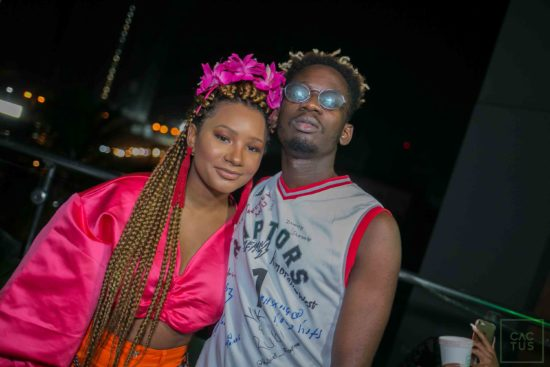 Falz, Simi React as Mr Eazi and Girlfriend Loved up on Instagram