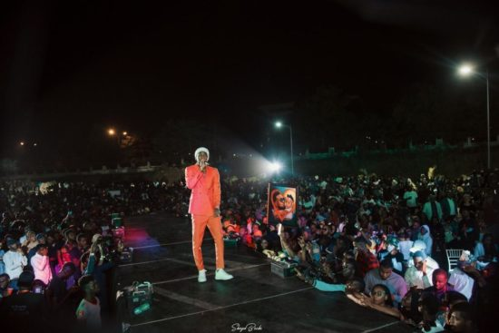"Patoranking shuts down Abuja with ""The Patoranking Experience"""