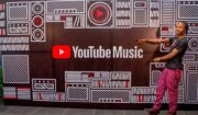 Naira Marley at YouTube Music and YouTube Premium launch in Nigeria