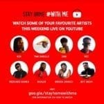 YouTube launches online music Festival Stay Home…#WithMe