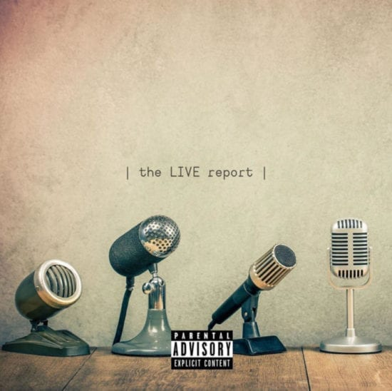 """M.I Abaga x A-Q – """"The Live Report"""" EP"""