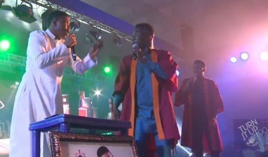 Big Bolaji x Woli Agba - Turn It Up (Live Performance) Video