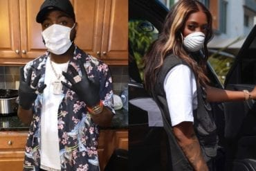 Davido Reacts as Tiwa Savage Shares Cute Video of Jamal and Imade