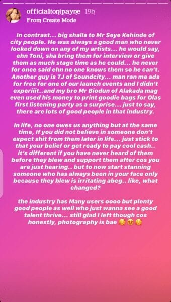 Tonipane Reveals How AY Refused to Allow Olamide to Perform at his show