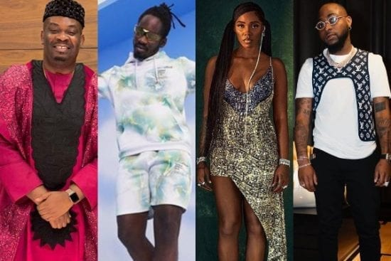 Don Jazzy Congratulates Davido, Mr Eazi & Tiwa Savage on Covering Billboard Magazine