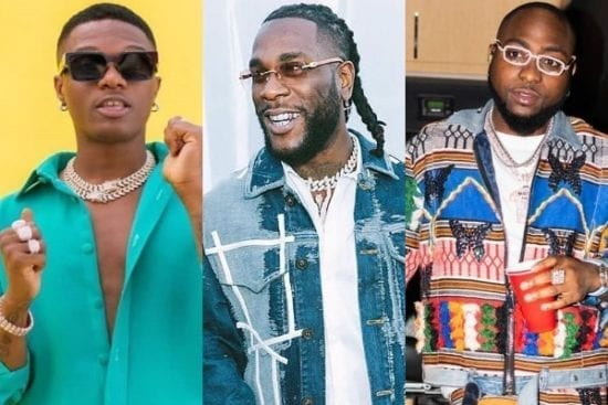 Burna Boy Emerges as Most Streamed Artist Ahead of Wizkid and Davido in Sub-Saharan Africa