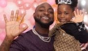 Davido Gifts Imade a Bicycle as She Graduates from kindergarten