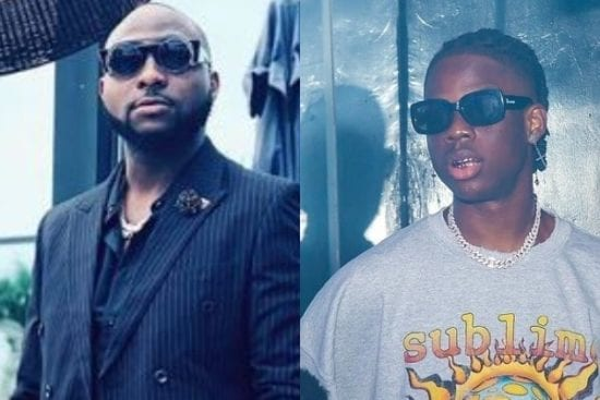 Davido hails Rema, Says He is Ahead of His Generation
