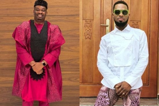 Don Jazzy Sends Birthday Shout Out to D'Banj
