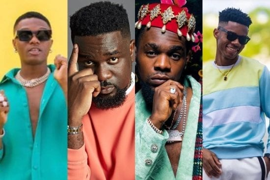 Top 10 songs from Nigeria X Ghana artists collaboration