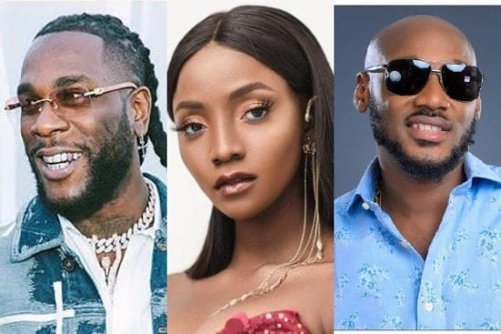 Top 5 Songs from Naija Artists With Celebrity Partners
