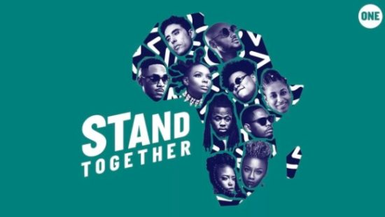 2Baba, Yemi Alade, Teni, Stanley Enow, & More - Stand Together