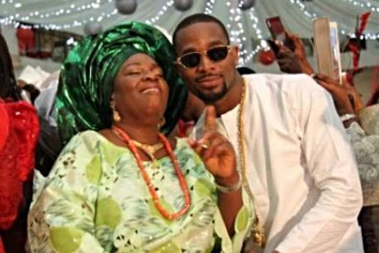 Dbanj Shares Photos of His Mother on Her Birthday