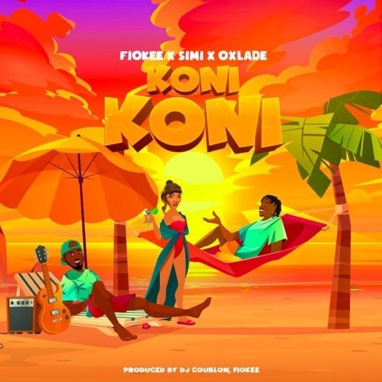 Fiokee ft. Simi & Oxlade – Koni Koni Mp3 Download