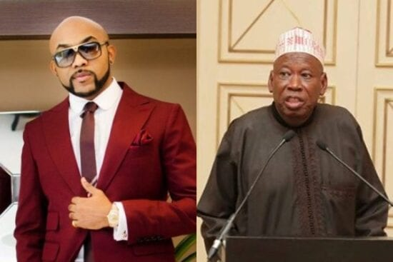 Banky W reacts to Ganduje's stance on death for Blasphemy