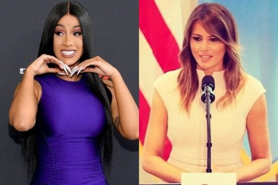 Cardi B fires back after US Politician says Melania Trump is better than her