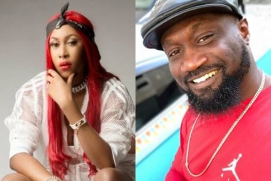 Cynthia Morgan goes Live to demand her money from Jude Okoye