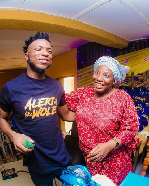 DJ Kaywise surprises his mom with a Car for her birthday