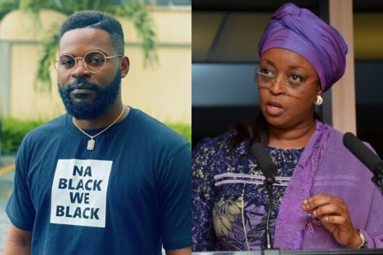 Falz reacts to Diezani saying Yahoo Yahoo boys are a tragedy for Nigeria