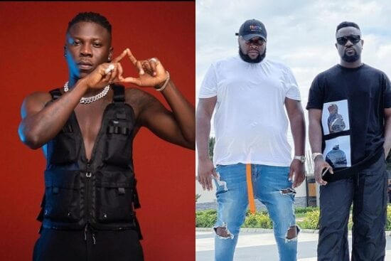 Ghanaian artist, Stonebwoy reportedly assaults Sarkodie's manager