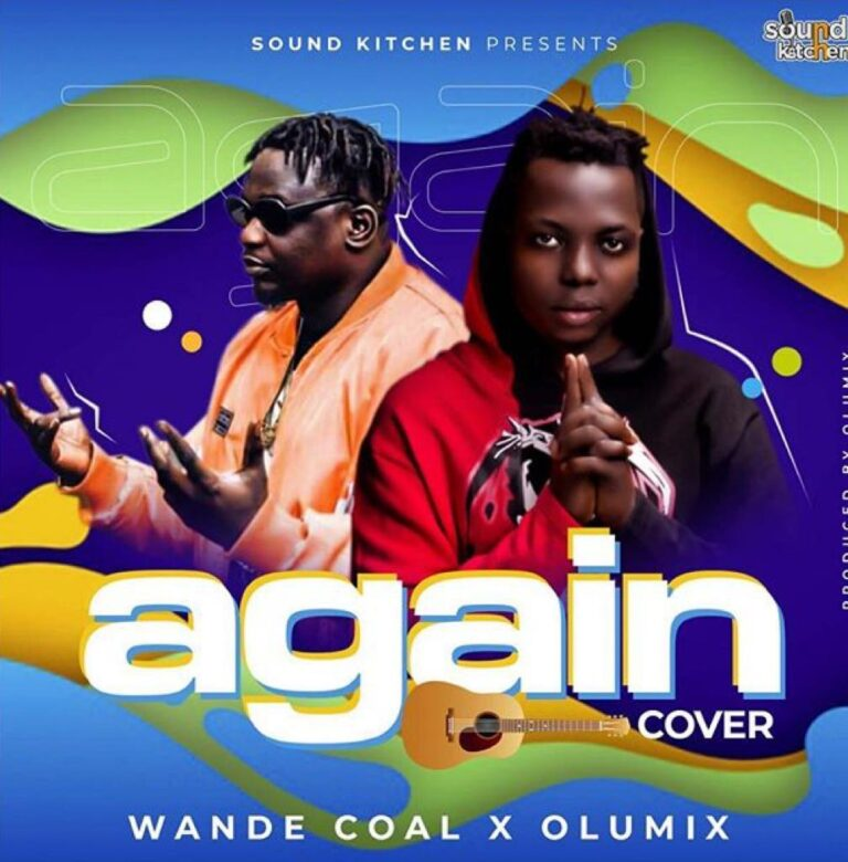 Olumix X Wande Coal - Again (Cover)