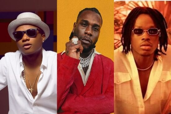 Wizkid shows support for Burna Boy, Fireboy DML and others you recently released their albums