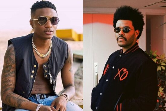 "WizkidFC slams American singer, The Weeknd for naming his song, ""Smile""."